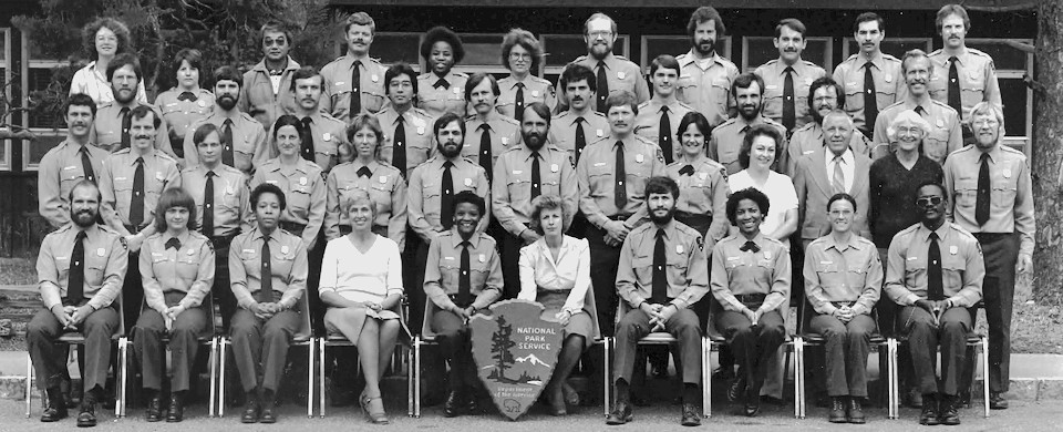 Horace M. Albright Training Center - Ranger Skills, March 1982 - Group Photo