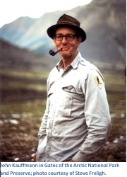 John Kauffmann in Gates of the Arctic National Park