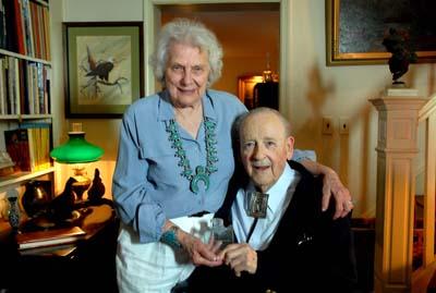 Helen and George Hartzog