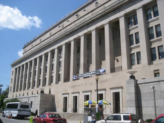 department of interior building