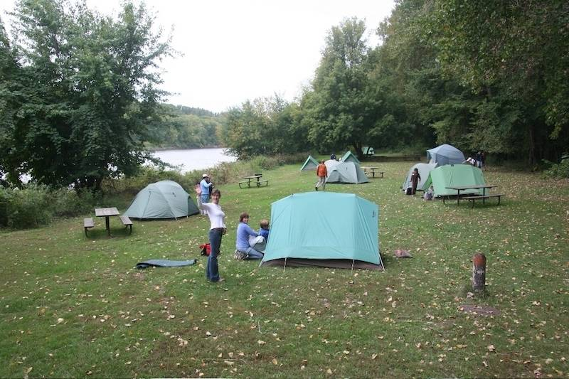 Camping with Tents - Courtesy NPS