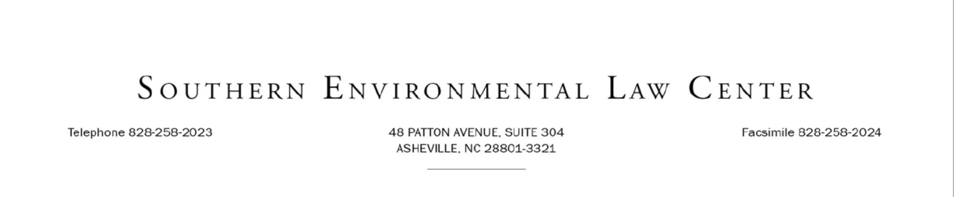 Southern Environmental Law Center Logo