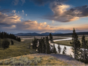 View of Yellowstone National Park