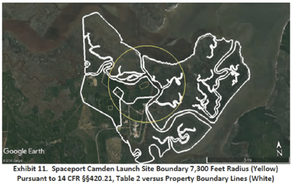 Launch Boundary Map