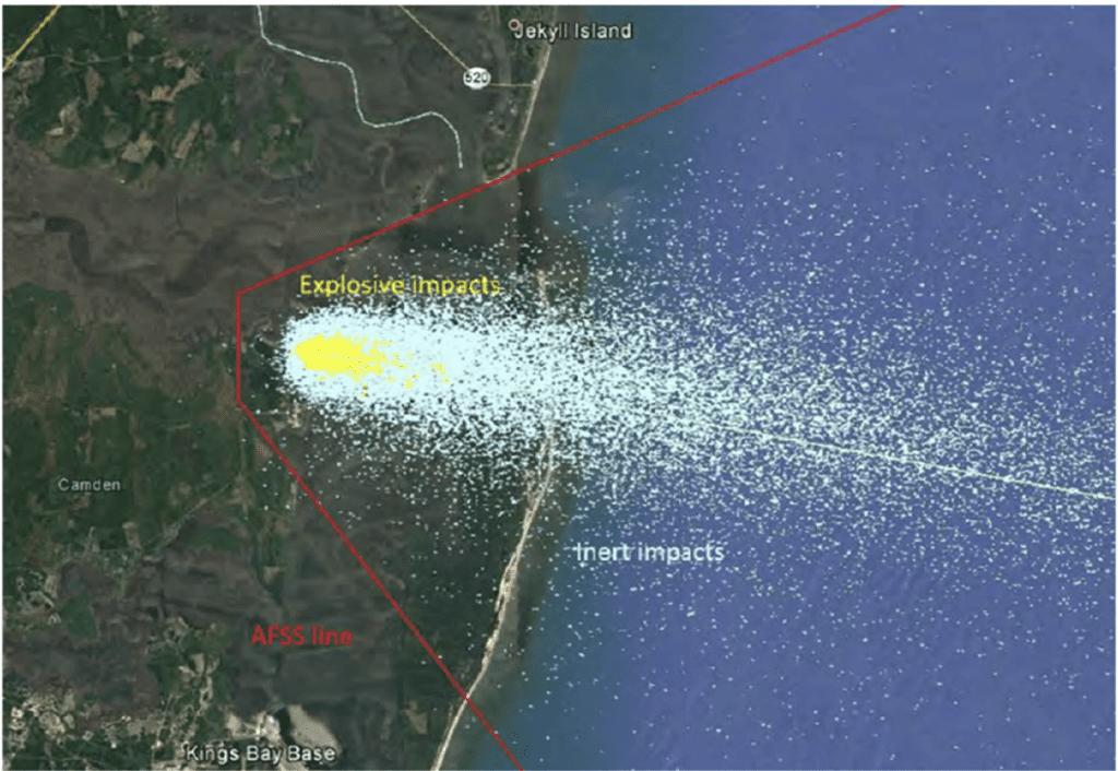 impact field map