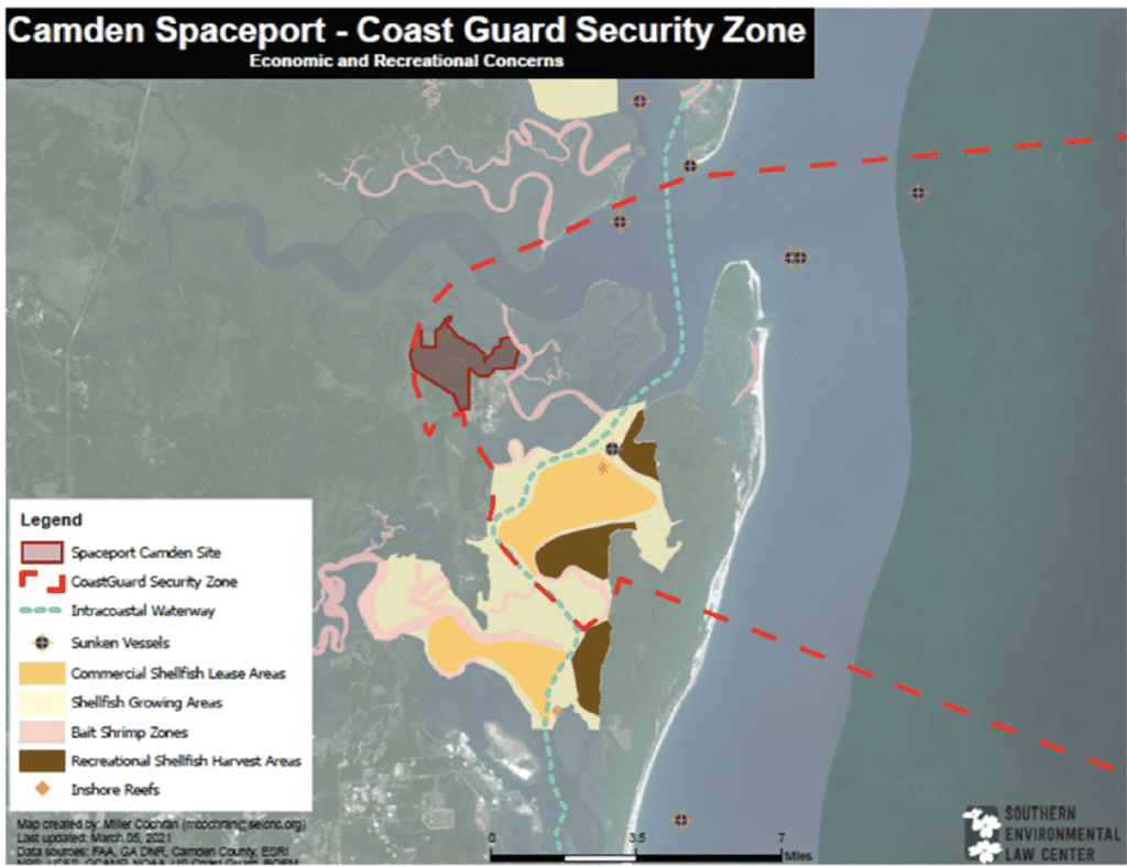 security zone map
